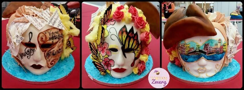 3D Torte Masken