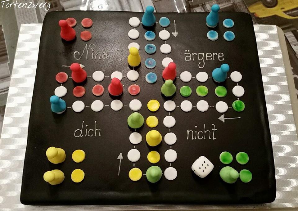Tortenzwerg_nina_mensch_ärgere_dich_nicht_spiel
