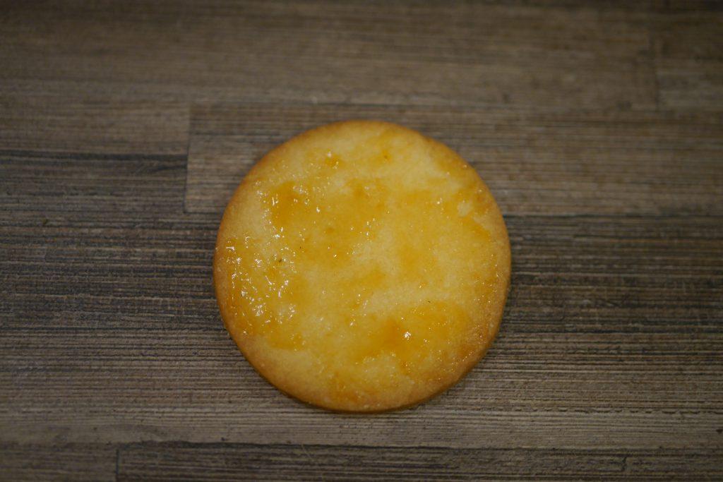 Keks mit Marmelade
