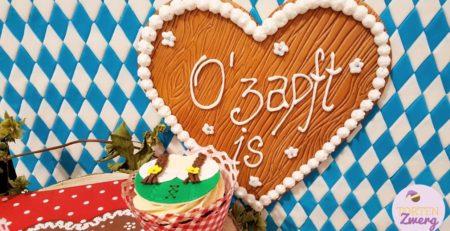Lebkuchenherz cupcakes