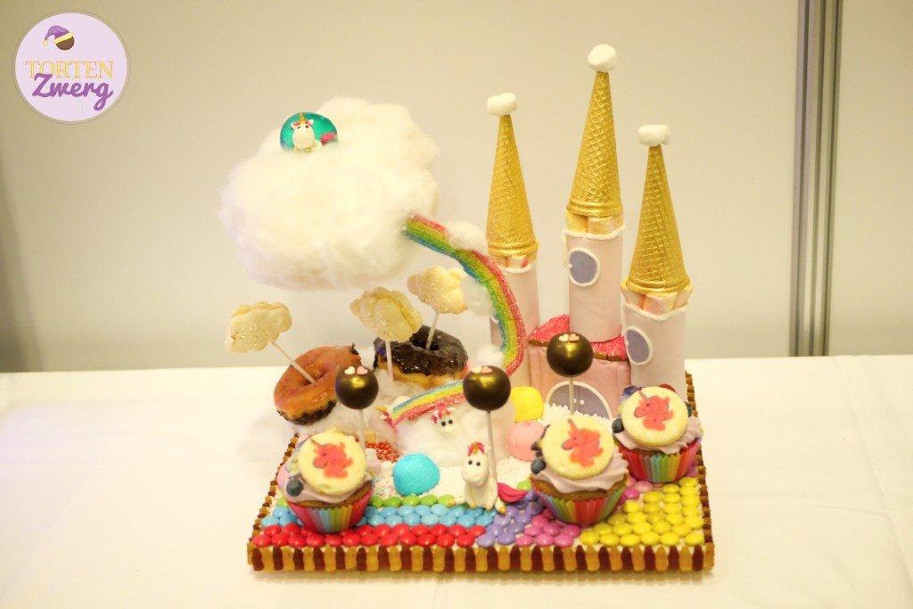 Tortenzwerg Sweet Table Einhorn Ideenwelt
