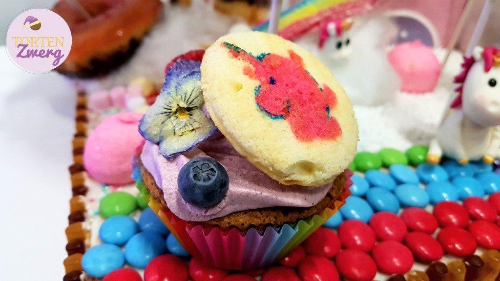 Tortenzwerg Cupcake Einhorn