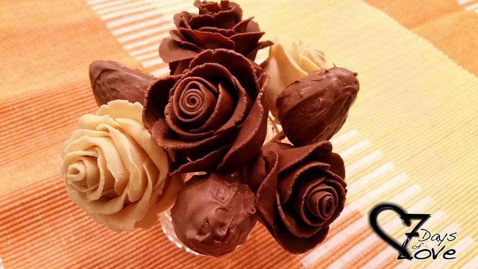 Schokoladenrosen