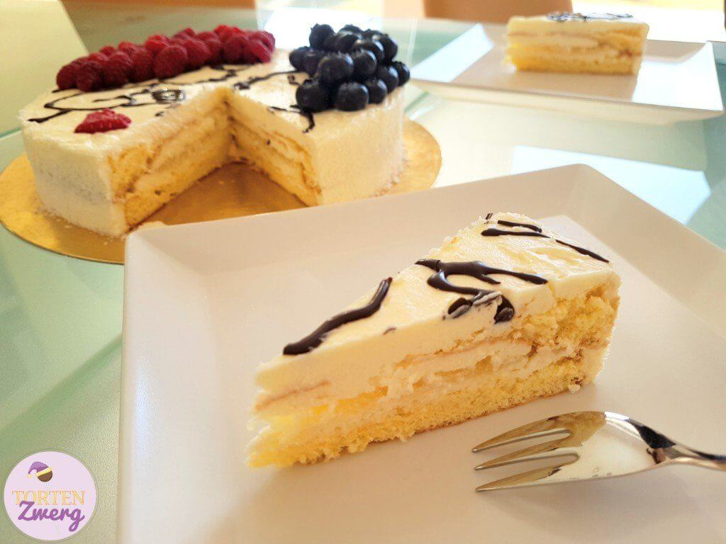 Anschnitt Torte