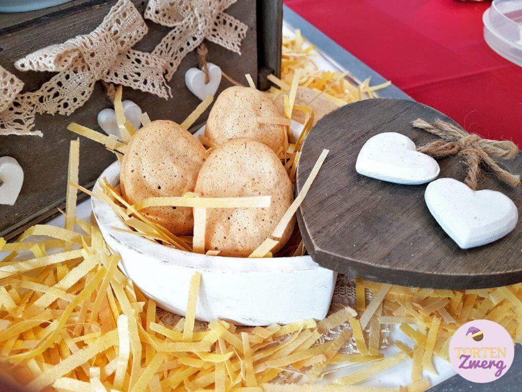 sweet table landleben kekse eier