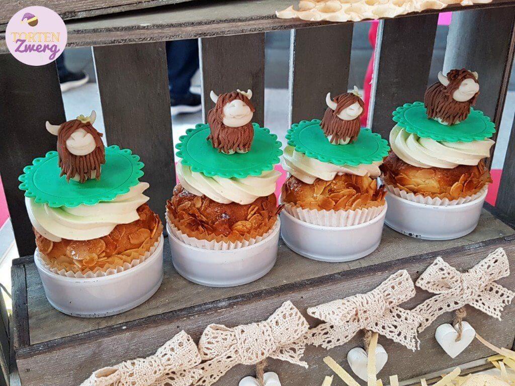 Sweet table landleben Cupcakes
