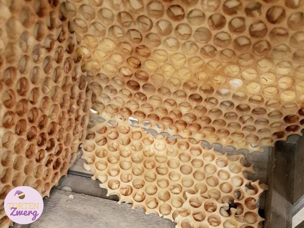 Bienenwabe aus Schokolade