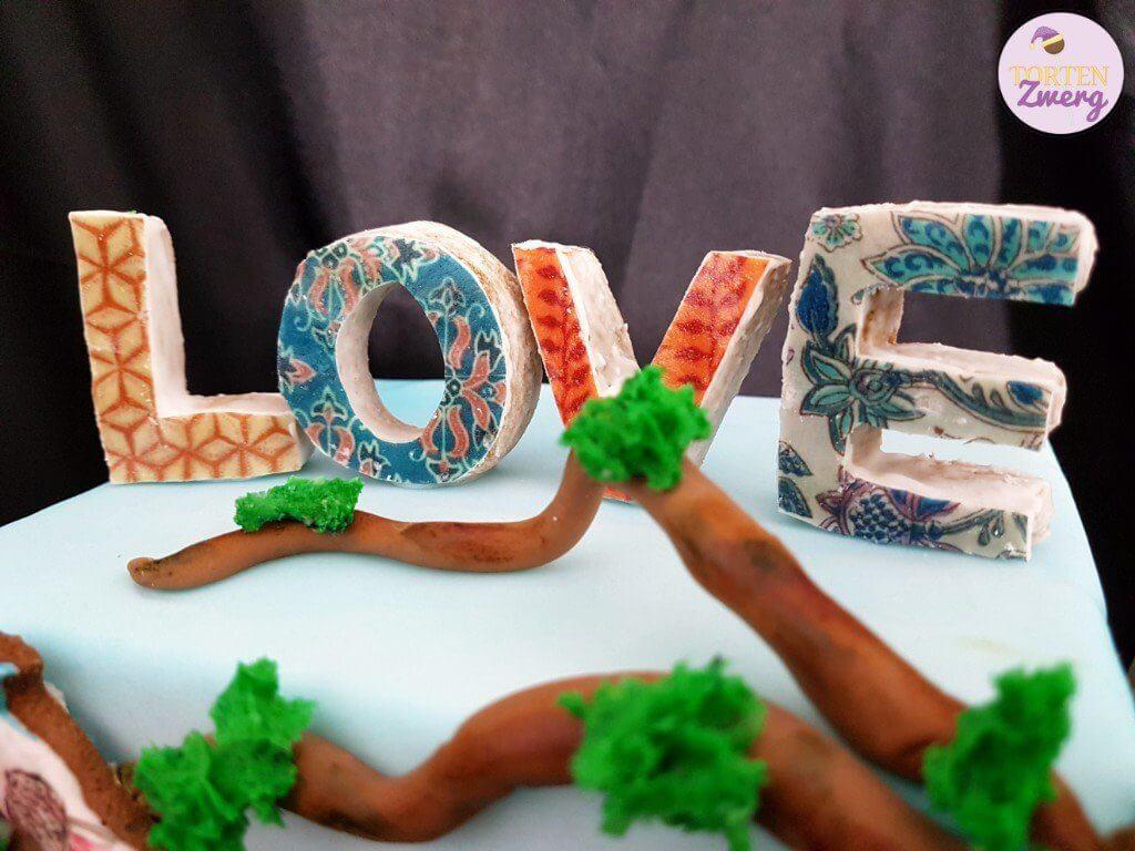 Love Lebkuchen Wafer Paper
