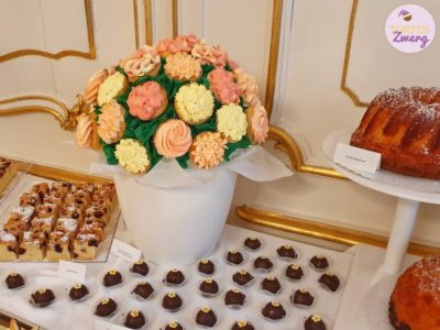 Cupcakes Blumenstrauß