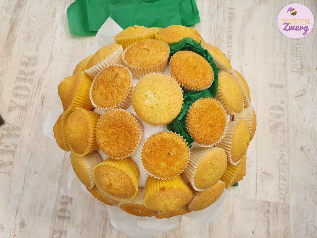 Cupcakes Aufbau