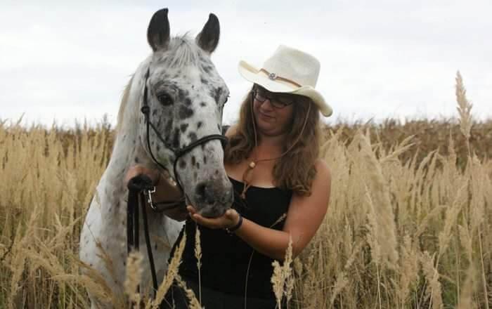 Stefanie Kemeter Pferd