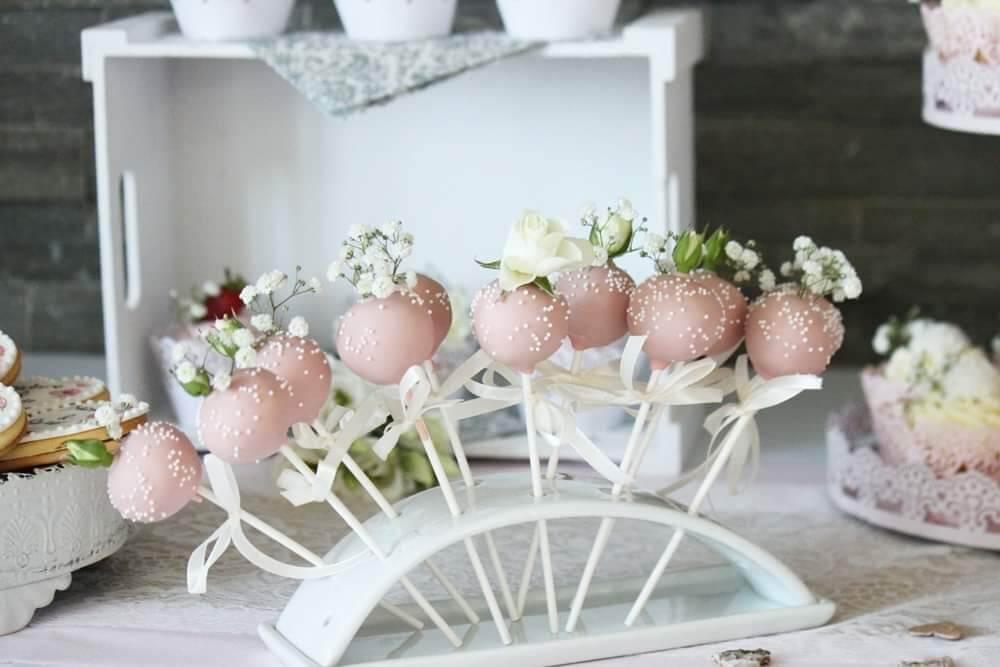 Cake Pops rosa